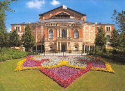 The Festspielhaus at Bayreuth